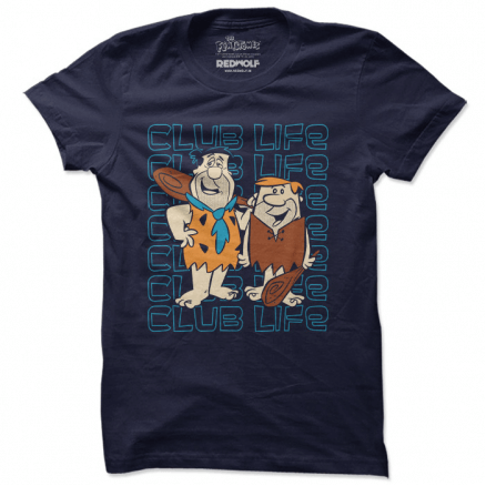 Club Life - The Flintstones Official T-shirt