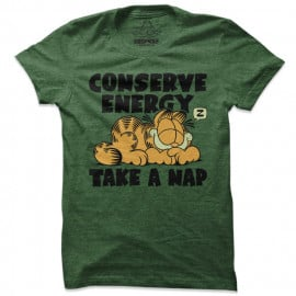 Conserve Energy - Garfield Official T-shirt
