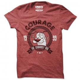 Courage: 99 Retro - Courage The Cowardly Dog Official T-shirt