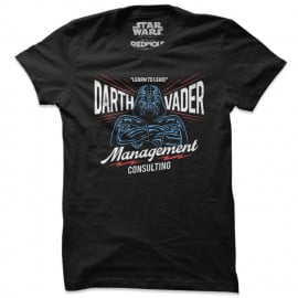Darth Vader Management Consulting - Star Wars Official T-shirt