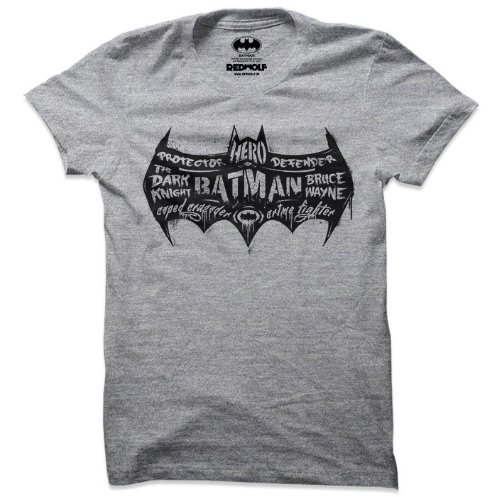Batman Crime Fighter - Batman Official T-shirt