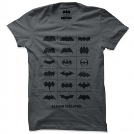 Batman: Logo Evolution - Batman Official T-shirt