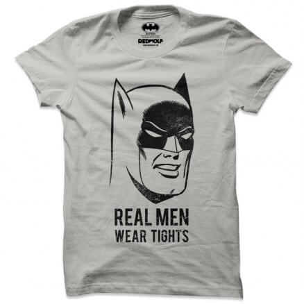 Real Men Wear Tights - Batman Official T-shirt