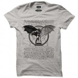 Vitruvian Batman - Batman Official T-shirt