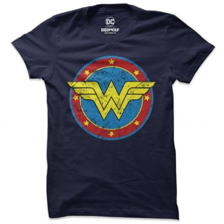 Wonder Woman: Logo - Wonder Woman Official T-shirt