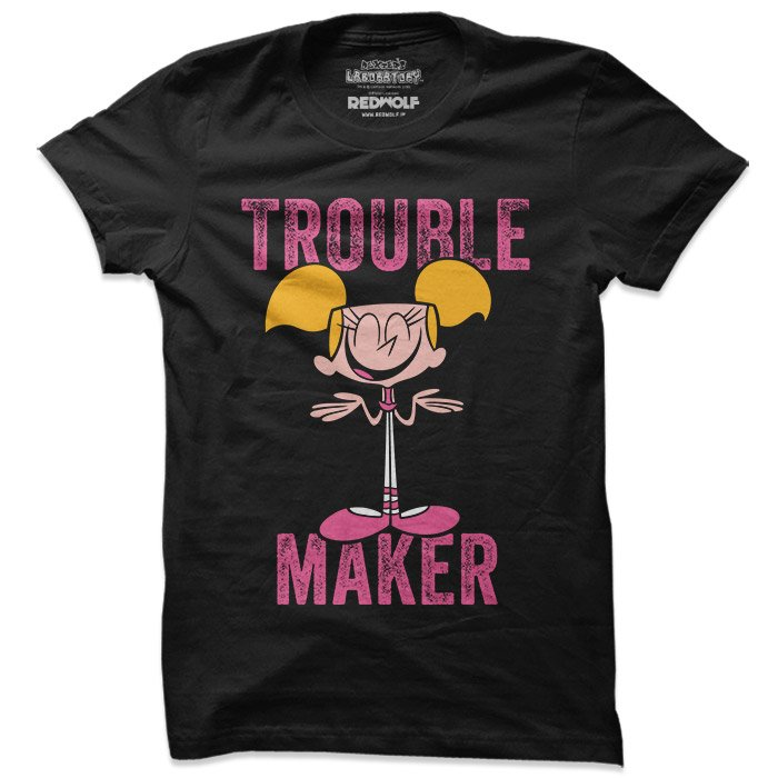 Trouble Maker - Dexter's Laboratory Official T-shirt