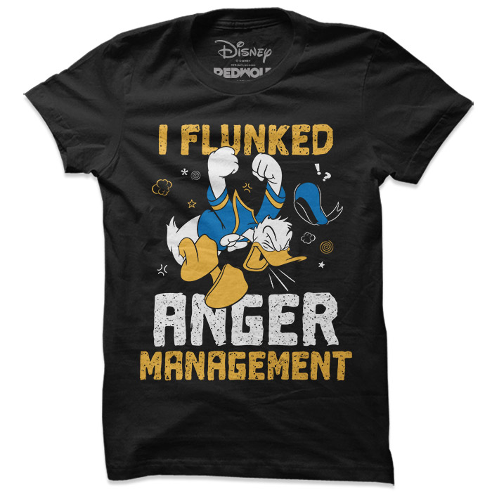I Flunked Anger Management - Disney Official T-shirt