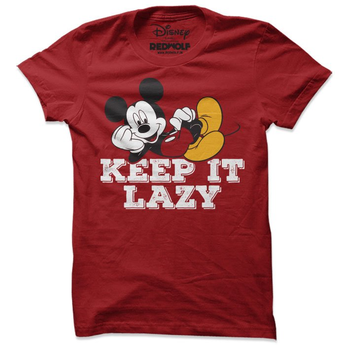 Keep It Lazy - Disney Official T-shirt