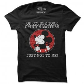 Mickey Mouse: Opinion - Disney Official T-shirt