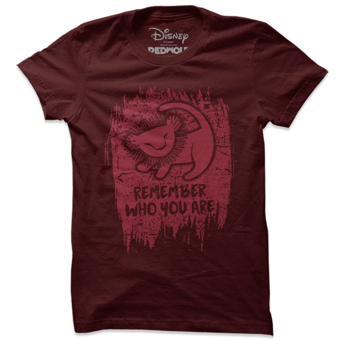Remember Who You Are  - Disney Official T-shirt