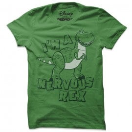 Nervous Rex  - Disney Official T-shirt