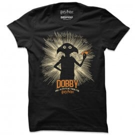 Dobby Will Always Be There For Harry Potter - Harry Potter Official T-shirt