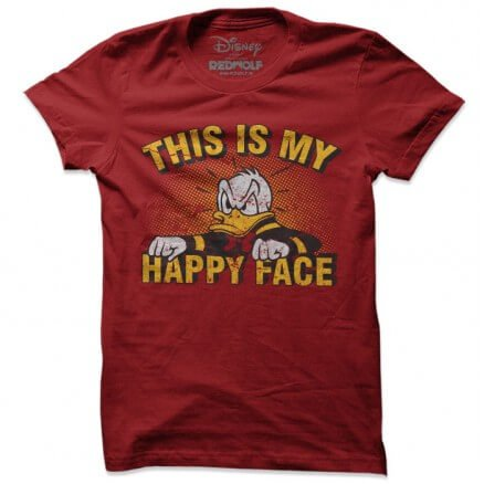 Happy Face - Disney Official T-shirt