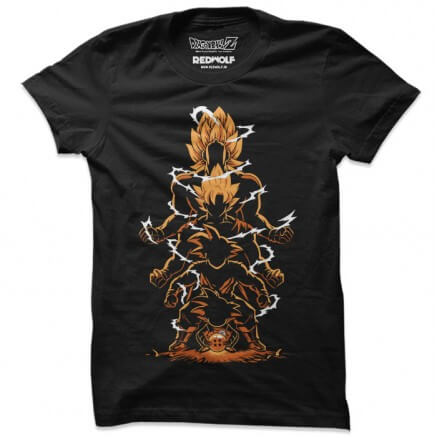 DBZ: Evolution -  Dragon Ball Z Official T-shirt