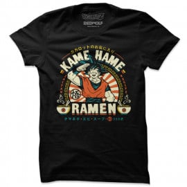 Goku: Kame Hame Ramen -  Dragon Ball Z Official T-shirt