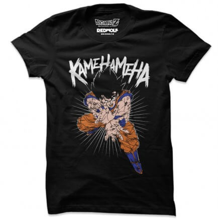 Kamehameha -  Dragon Ball Z Official T-shirt