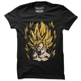 Super Saiyan Goku -  Dragon Ball Z Official T-shirt