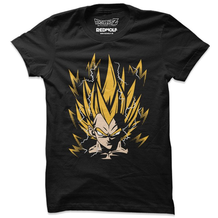 Super Saiyan Vegeta -  Dragon Ball Z Official T-shirt