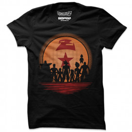 Z Warriors -  Dragon Ball Z Official T-shirt