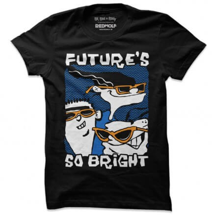 Future's So Bright - Ed, Edd n Eddy Official T-shirt