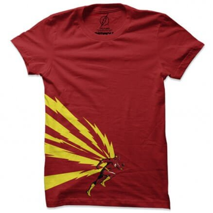Flash: Side Burst - The Flash Official T-shirt