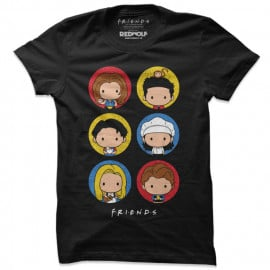 F.R.I.E.N.D.S Chibi - Friends Official T-shirt