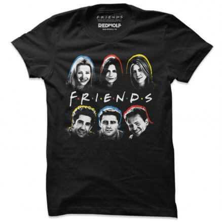 Friends Gang - Friends Official T-shirt