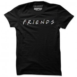 F.R.I.E.N.D.S Logo - Friends Official T-shirt