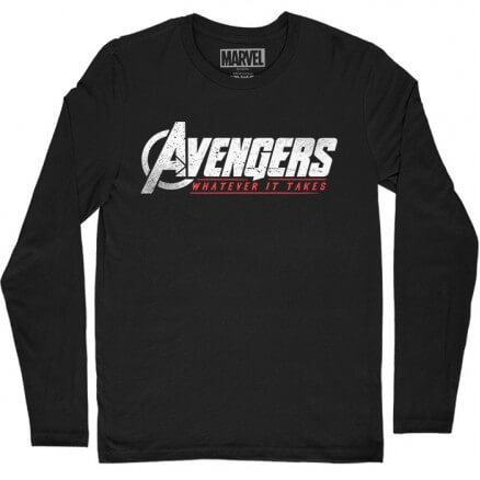Whatever It Takes - Marvel Official Full Sleeve T-shirt