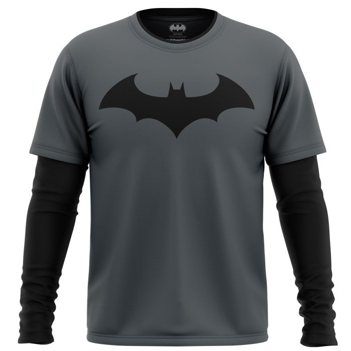 Batman Emblem - Batman Official Full Sleeve T-shirt