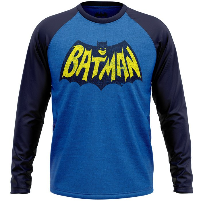 Batman: Vintage Logo - Batman Official Full Sleeve T-shirt