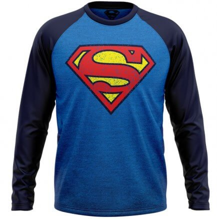 Superman: Vintage Logo - Superman Official Full Sleeve T-shirt