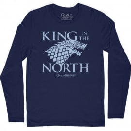 King In The North - Game Of Thrones Official Full Sleeve T-shirt