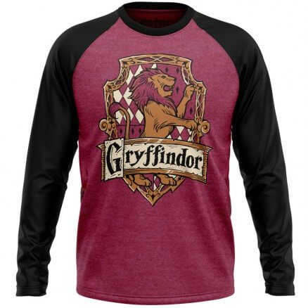 Gryffindor Crest - Harry Potter Official Full Sleeve T-shirt