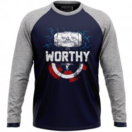 Worthy - Marvel Official Full Sleeve T-shirt