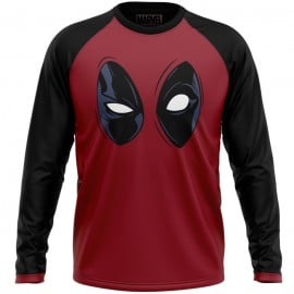 Deadpool: Mask - Marvel Official Full Sleeve T-shirt