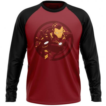 Iron Man: Armored Avenger - Marvel Official Full Sleeve T-shirt