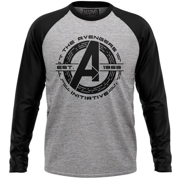The Avengers Initiative - Marvel Official Full sleeve T-shirt