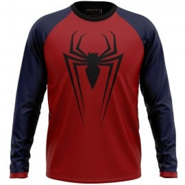 Spider-Man: Logo - Marvel Official Full sleeve T-shirt