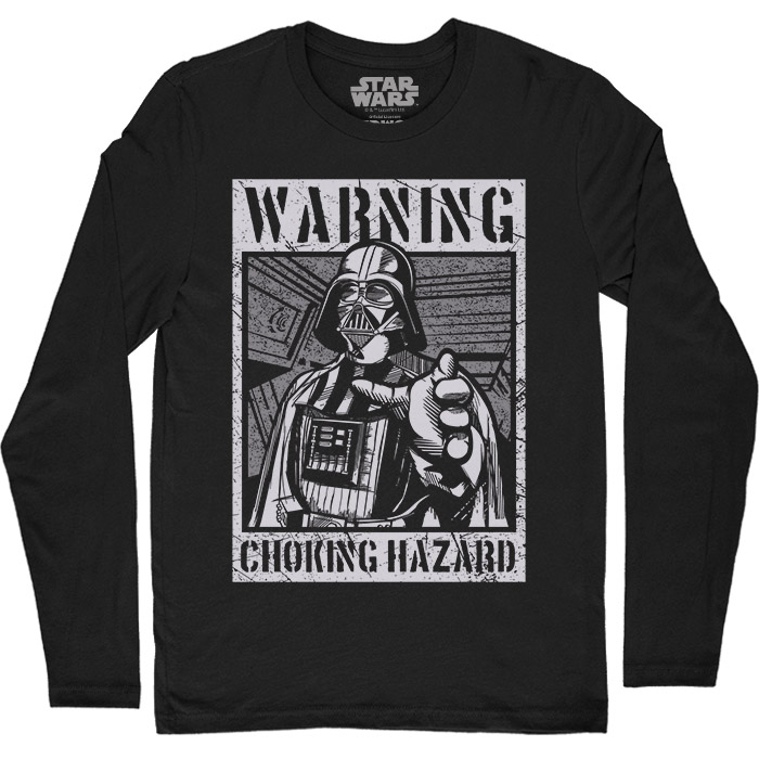 Choking Hazard - Star Wars Official Full Sleeve T-shirt