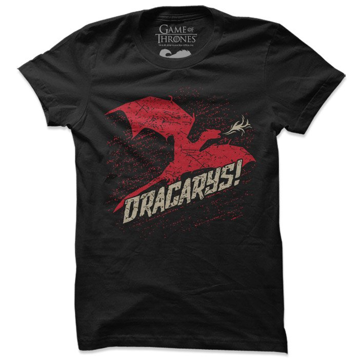Dracarys - Game Of Thrones Official T-shirt