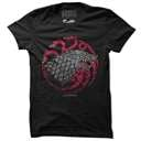 Fire, Blood & Ice - Game Of Thrones Official T-shirt