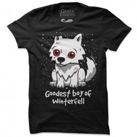 Goodest Boy Of Winterfell - Game Of Thrones Official T-shirt