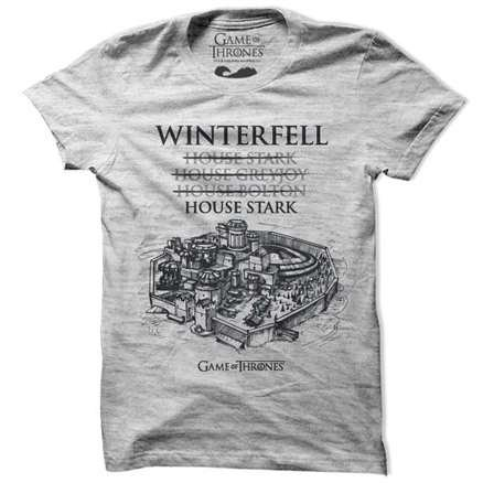 House Of Winterfell - Game Of Thrones Official T-shirt