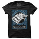 House Stark Emblem (Glow In The Dark) - Game Of Thrones Official T-shirt