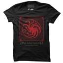 House Targaryen Shield - Game Of Thrones Official T-shirt