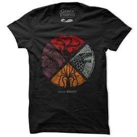 Sigil Shield - Game Of Thrones Official T-shirt