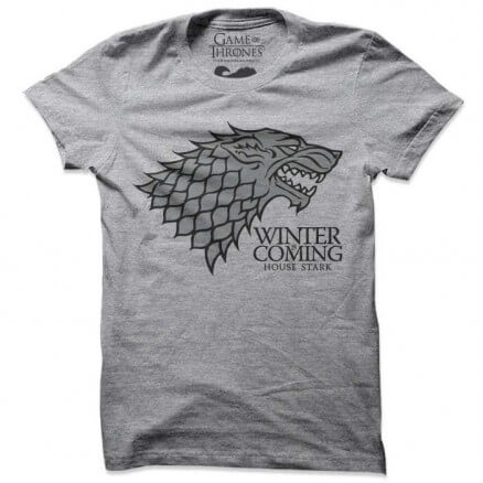 Winter is Coming - Game Of Thrones Official T-shirt