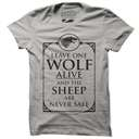 House Stark One Wolf - Game Of Thrones Official T-shirt