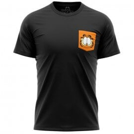Garfield Face (Pocket T-shirt) - Garfield Official T-shirt